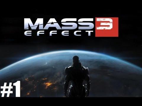 Mass Effect 3 Walkthrough #1 [ARABIC] | ماس إفيكت 3 #1